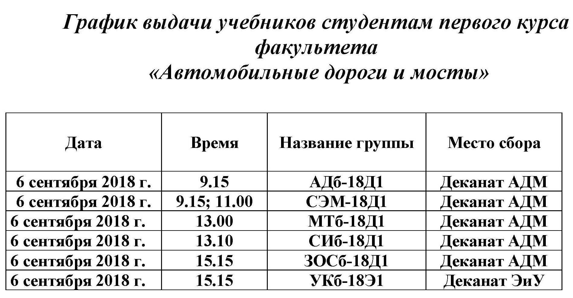 График выдачи учебников студентам первого курса факультета_Страница_2
