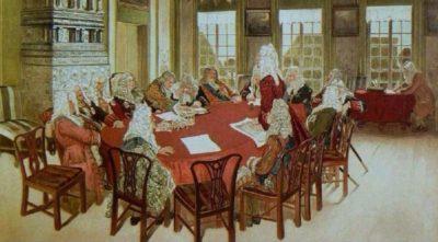 В 1711 указом Петра I был учрежден Сенат