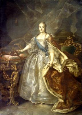 2 мая - 290 лет со дня рождения российской императрицы Екатерины II