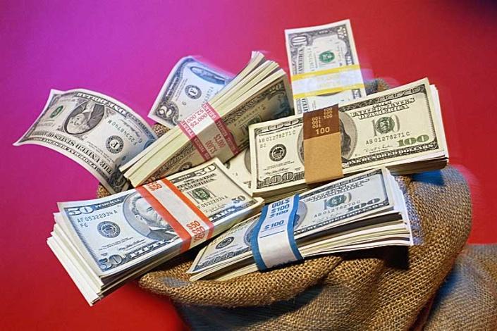 Открытка денежный день